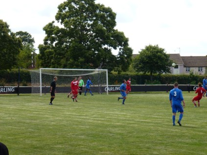 Build up to the equalising goal by Lichfield