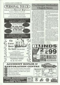 Brownhills Gazette November 1995 issue 74_000006