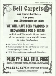 Brownhills Gazette November 1995 issue 74_000007