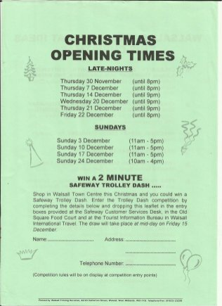 Brownhills Gazette November 1995 issue 74_000026
