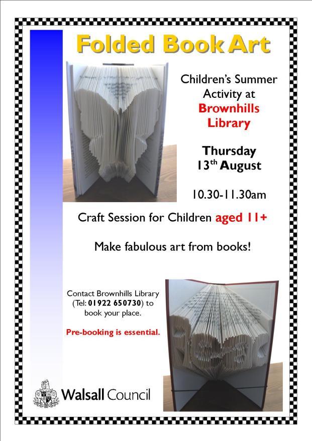 Folded Book Art Poster
