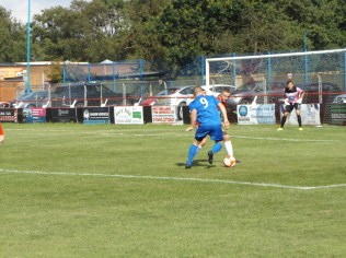 A determined second-half attacking move by Bardon