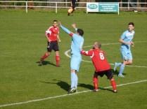 Sporting play by both teams