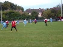 A fine early attacking move by Pelsall