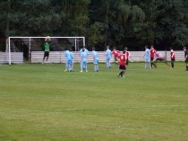 Confident goalkeeping by Walsall Wood