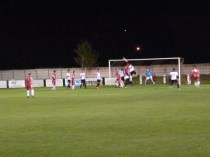 Another full frontal assault by the Wood, but Hereford's skilful passing won through