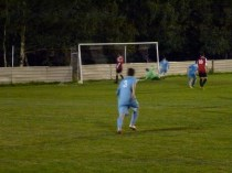 Equalising goal early in the second half, to the Wood
