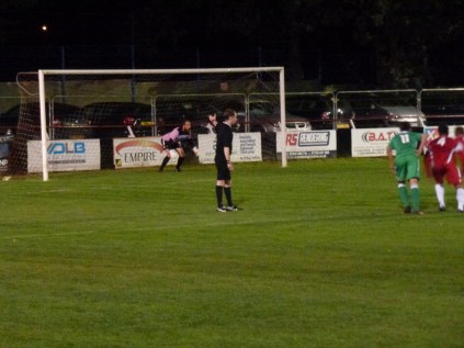 Penalty shot by Alvechurch gives only goal of the match.