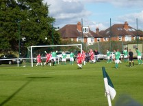 Brocton pile on the pressure and equalise in the last gasp of the match