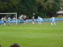 Heanor on the attack to gain a goal.
