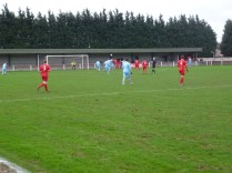 Quorn on the attack in the first half