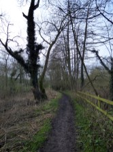 The footpath around the ford features in one scene.