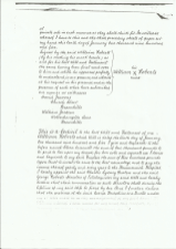 William Roberts will: page 2
