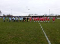 Wwfc welcome Coventry and a sporting skilful contest is about to get under way.