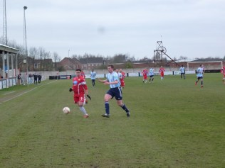 An early foray by the Wood is cleanly met by a single Coventry defender, closely monitoring the ball. A promising start to an excellent match.