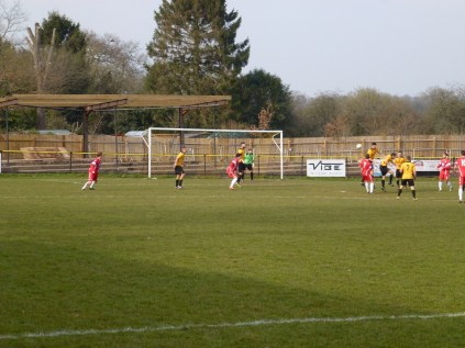 Alvechurch used their tall defenders to good effect, in many ways.