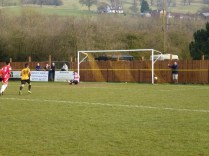 Alvechurch score from a penalty awarded by the referee.