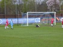 A fine shot brings Long Eaton's equalising goal