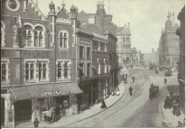 Empire Palace Theatre, popularly known as the Hippodrome, demolished 1961 to make way for the Times Furnishing Company building
