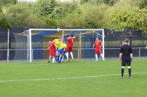 Early pressure by Khalsa, both physical and vocal characterised the first part of the match