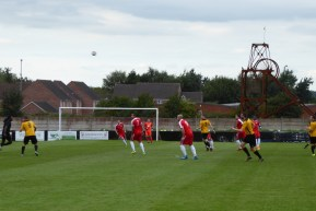 Build up to early pressure by Alvechurch in the first half.