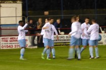 Goal, and Westfields celebrate in style