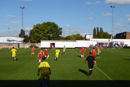 First half goal to the Sphinx