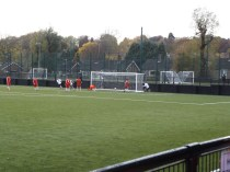 Unusual goal..first goal to Boldmere!