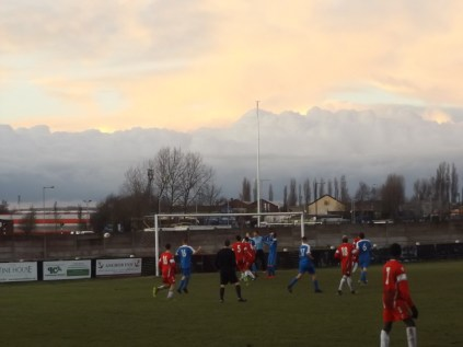 So near, so far as Lichfield pile on the pressure in the second half to a Turner skyscape.