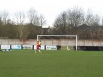 Take that, Walsall Wood! Romulus get it right to score this peach of a goal in the second half