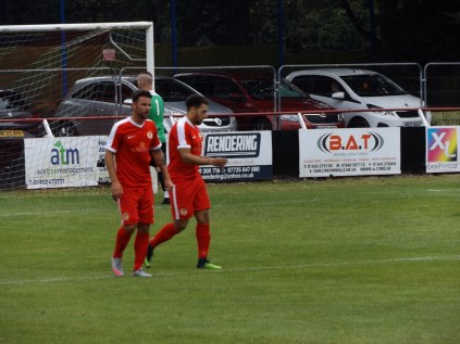 Second goal for the Wood, in the second half.