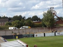 As the Wood played, Street Pride heroes worked away on the adjacent pitch. Top class chaps, them