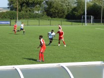 A game characterised by accurate passing and off- the ball running in today's sporting contest