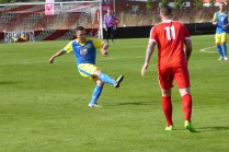 Tividale's play-maker launches another attacking move