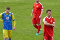a brief pause while a substitution is made. The pace was such in this game today.