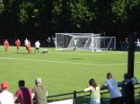 Another goal to the Wood following accurate passing and ball-play. Delightful controlled soccer.