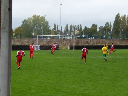 Second half and Bolehill come out all guns blazing as they launch a broadside attack.