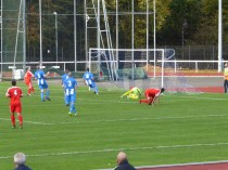Nuneaton's goalkeeper in ( necessarily ) scintillating moments. Would the Wood score?