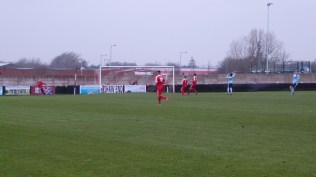 First half and Studley surprise the Wood with this attack on goal, which petered out, sadly for Studley
