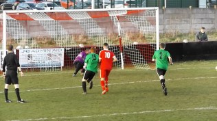 Second half and another goal, beating the substitute goalkeeper