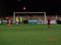 Second half and an attacking move by Pelsall , there, in the distance