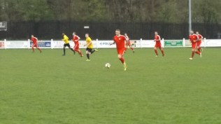 Later in the first half and the Red Army move forward en masse.
