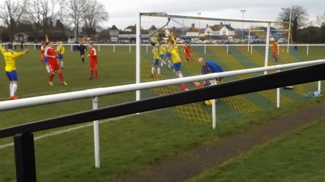 Another near goal by the Wood, but, for some reason, it was not allowed. Blowed if I know.