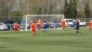 First half and Pershore mount an attack on the Wood. So near and yet…