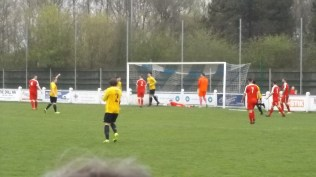 Warwick score their first goal to equalise the score in the first half. Game on.