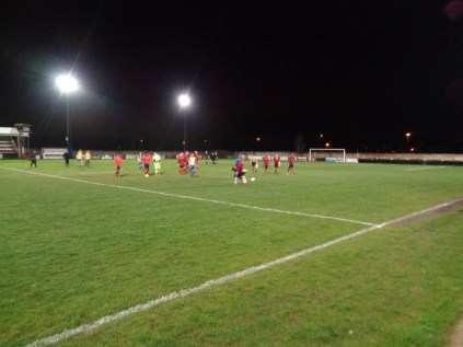 The whistle is blown to end the match. Pelsall Villa have marked up a super well-deserved win, three goals to one, leaving Northfield surprised and somewhat perplexed. That's non-league soccer, super to spectate and appreciate.