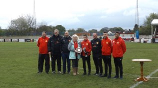 Memorable half time special, with Lynn there to complete the day