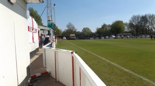 A beautiful sunny afternoon and the ground looks superb. One hour before kick off
