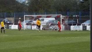 Got there. First goal, of three, to Walsall Wood with the final score being 3 - 0