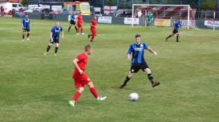 Early in the first half and a normally fine through ball is cut off by an Ilkeston defender. It was one of those games.